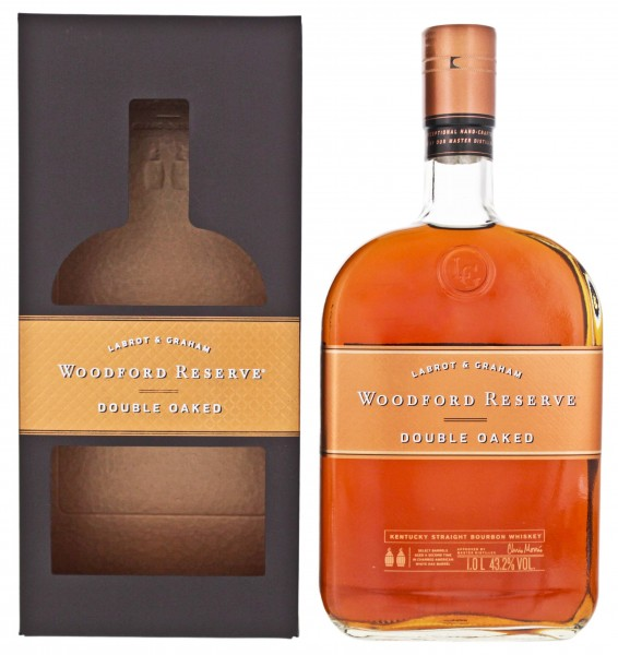 Woodford Reserve Double Oaked 1,0L 43,2%