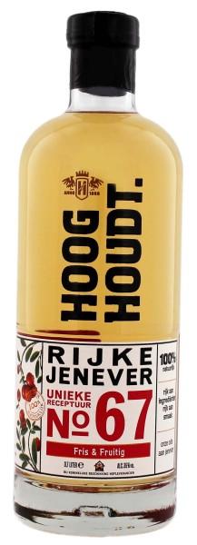 Hooghoudt Rijke Jenever No. 67, 0,7 L, 35%