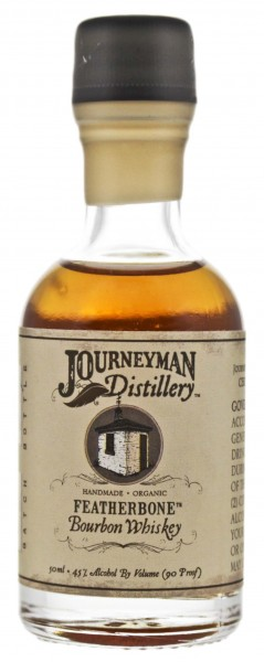 Journeyman Featherbone Bourbon Whiskey 0,05L 45%