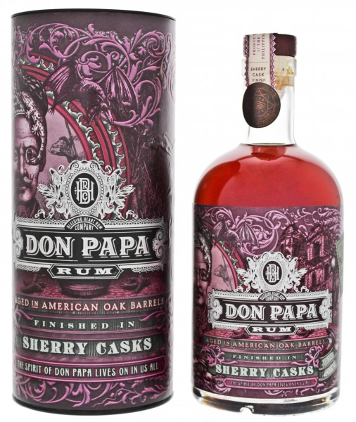 Don Papa Sherry Cask Limited Edition 0,7L 45%