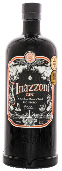 Amazzoni Gin Rio Negro 0,7L 51%