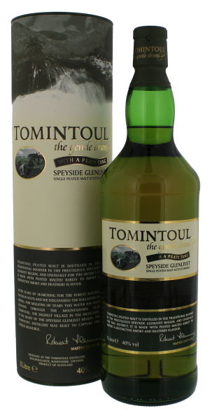Tomintoul Single Malt Whisky Peaty Thang, 1,0 L, 40%