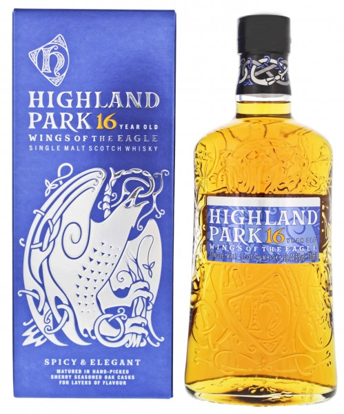 Highland Park Single Malt Whisky 16 Jahre Wings of the Eagle 0,7L 44,5%