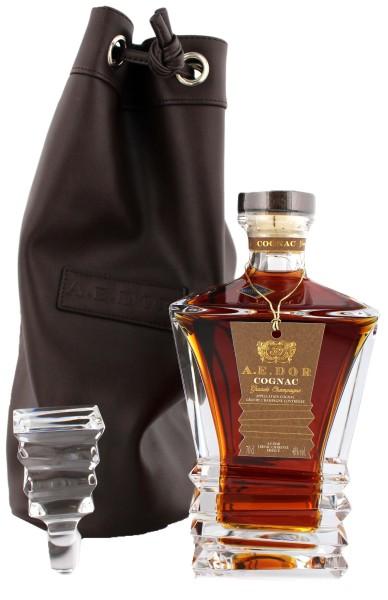 A.E. Dor Cognac Crystal Decanter 0,7L 40%