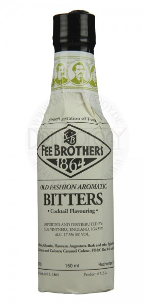 Fee Brothers Old Fashioned Bitters 0,15L 17,5%