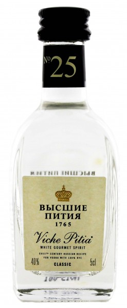 Viche Pitia No. 25 White Rye Spirit Classic Miniatur