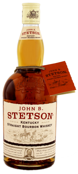 John B. Stetson Kentucky Straight Bourbon Whiskey - Sour Mash - 0,7 L 42%