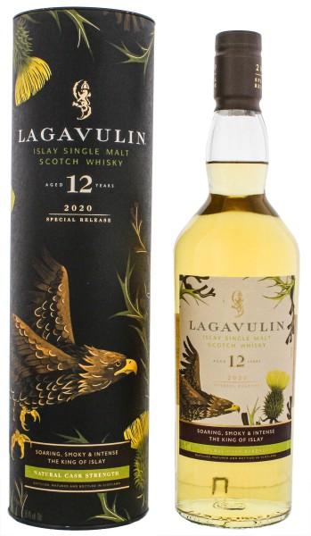 Lagavulin 12 Jahre Single Malt Whisky Special Release 2020 Cask Strength 0,7L 56,4%
