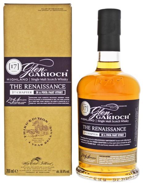 Glen Garioch Single Malt Whisky 17 Jahre The Renaissance 3rd Chapter 0,7L 50,8%