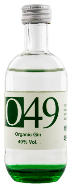 O49 Organic Gin Miniatur