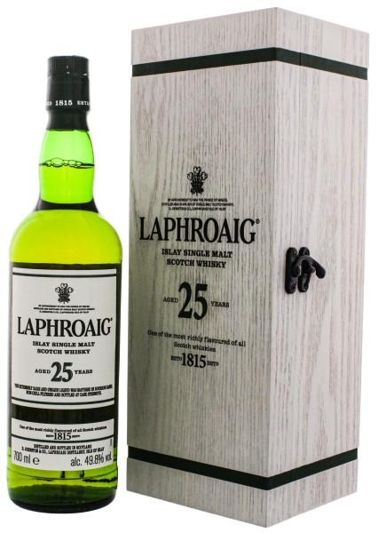 Laphroaig Single Malt Whisky 25 Jahre 2020 Edition Cask Strength 0,7L 49,8%