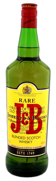 J & B Rare Scotch Whisky, 1,0 L, 40%