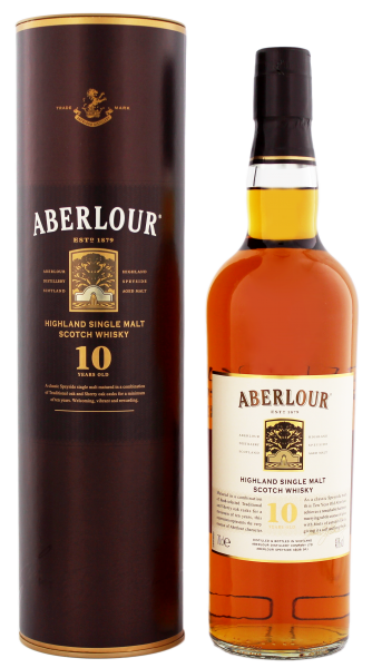 Aberlour Single Malt Whisky 10 Years Old, 0,7 L, 40%
