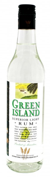 Green Island Superior Light Rum 0,7L 40%