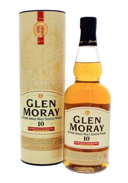 Glen Moray Single Malt Whisky 10 Jahre Chardonnay Cask