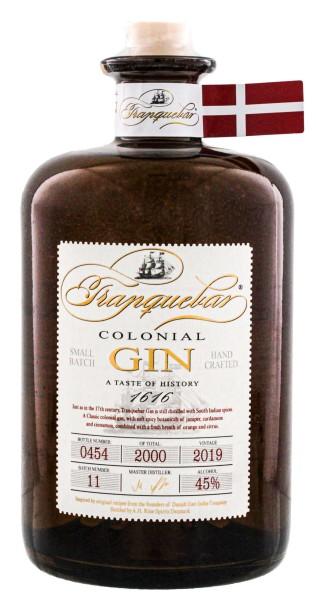 Tranquebar Colonial Small Batch Gin 0,7 - 45%-