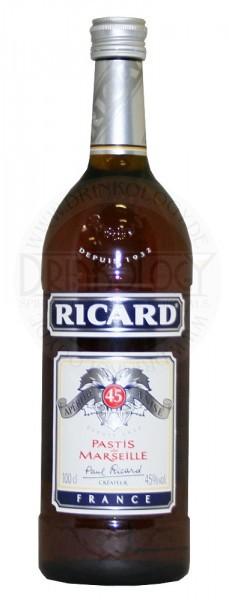 Ricard Pastis, 1 L, 45%