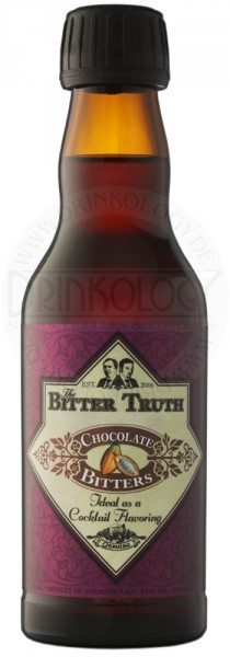 The Bitter Truth Chocolate Bitters, 0,2 L, 44%