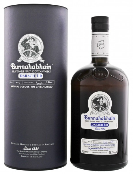 Bunnahabhain Single Malt Whisky Darach Ur, 1 L, 46,3%