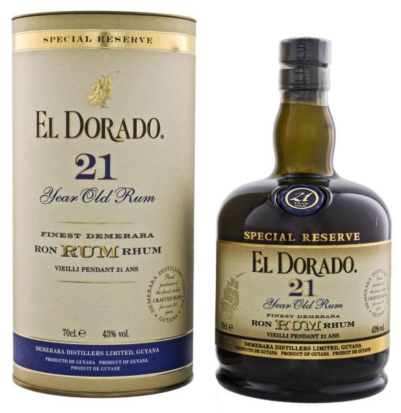 El Dorado 21 Jahre 0,7L 43%