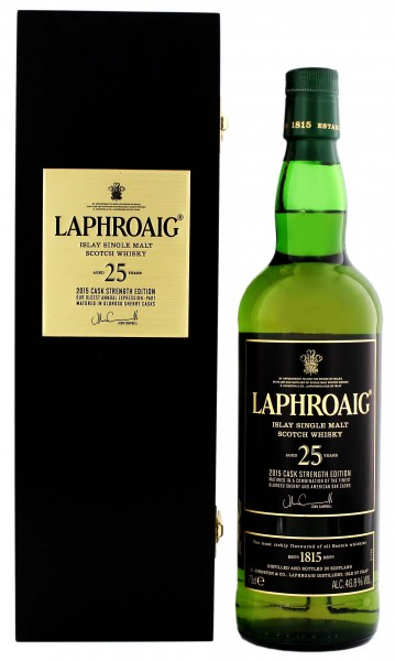 Laphroaig 25YO 2015 Cask Strength