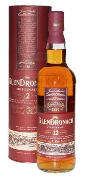 Glendronach Single Malt Whisky 12 Years Old 0,7L 43%
