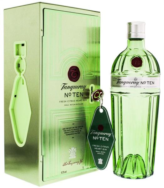 Tanqueray No. TEN Gin giftpack Keyring 1,0L 47,3%