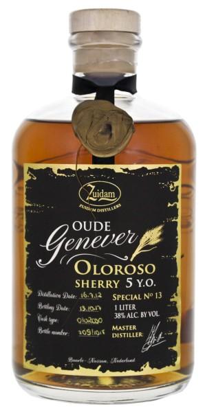 Zuidam Oude Genever 5 Jahre Oloroso Cask 1,0L 38%