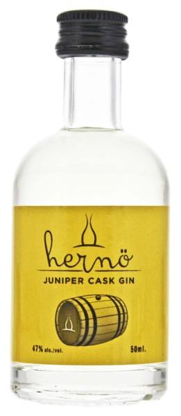 Hernö Juniper Cask Gin Miniatur 0,05L 47%