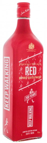 Johnnie Walker Red Label 200 years icons lim. Edition 1,0L 40%