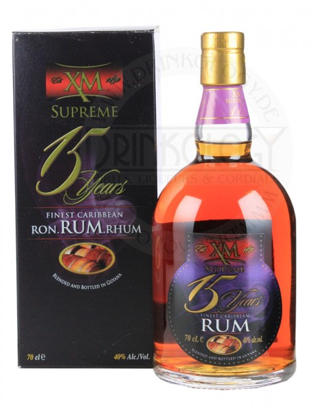 XM Rum Supreme 15 Jahre