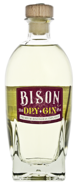 Bison Dry Gin 0,5L 45%