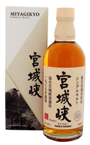 Nikka Miyagikyo Japanese Whisky, 0,5L 43%