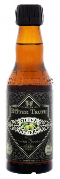 The Bitter Truth Olive Bitters 0,2L