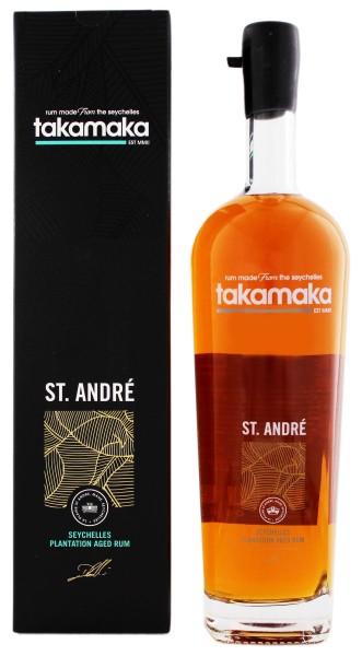Takamaka Rum St Andre 8 Jahre 1,0L 40%