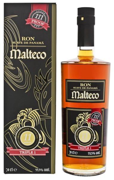 Malteco 11YO Triple 1 0,7L 55,5%