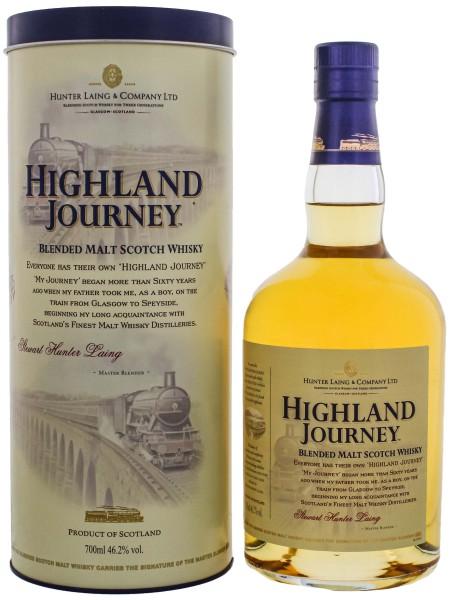 Highland Journey Blended Malt Whisky 0,7L 46,2%
