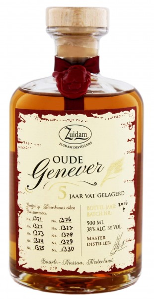 Zuidam Oude Genever 5 Jahre, 0,5