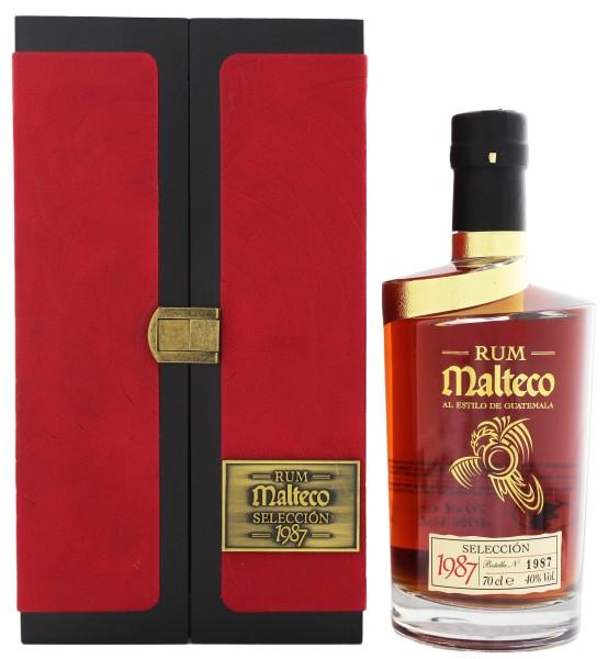 Malteco Rum Selección 1987,