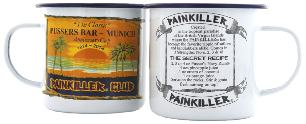 Pusser Bar Munich Painkiller Tasse