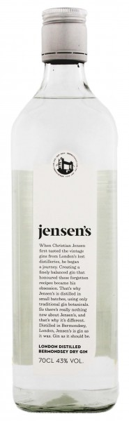 Jensen's Bermondsey Gin, 0,7 L