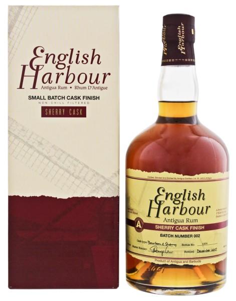 English Harbour Rum Sherry Cask Finish Batch 2 0,7L 46%