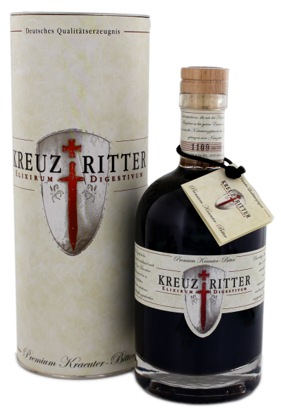 Kreuzritter Elixirum Digestivum Bitter 0,5L 30%