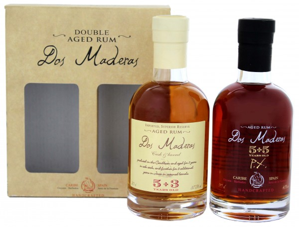 Dos Maderas Rum Giftset 2x0,2L