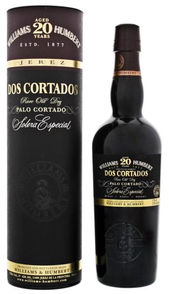 Dos Cortados Solera Especial 20 YO Palo Cortado 0,5L 21,5%