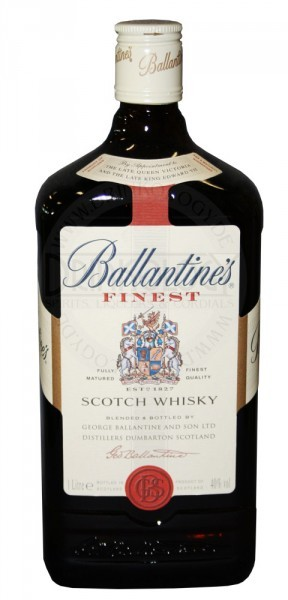Ballantines Finest Blended Scotch Whisky 1,0L 43%