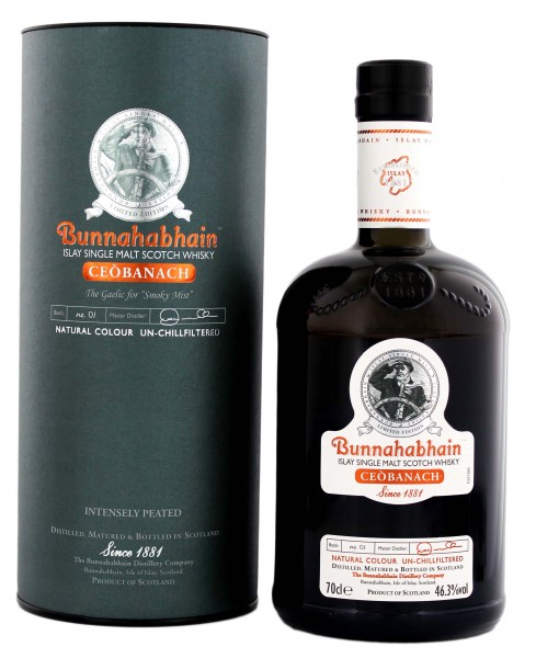 Bunnahabhain single Malt Whisky Ceobanach, 0,7L 46,3%