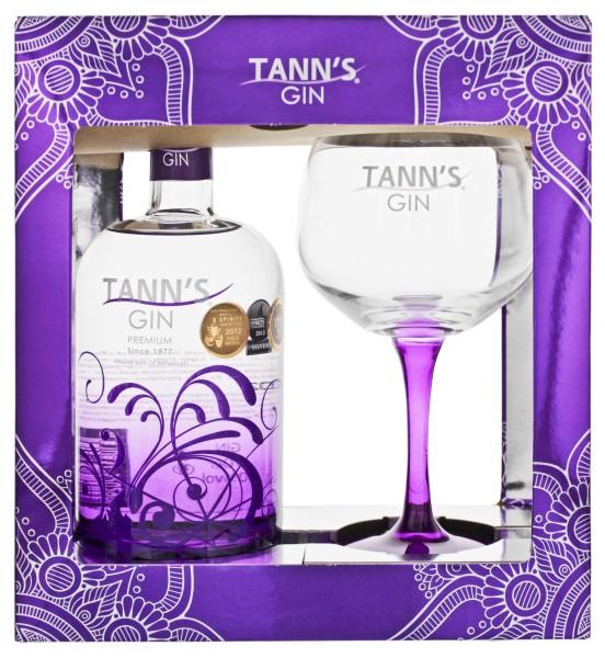Tann`s Gin Gift Set 0,7 L, 40%