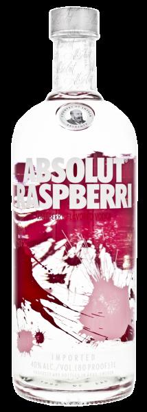 Absolut Vodka Raspberri, 1 L, 40%