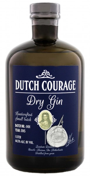 Zuidam Dutch Courage Dry Gin, 1,0L 44,5%